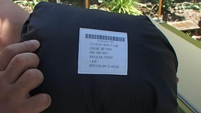 パップテント兼用蚊帳なスキータテント