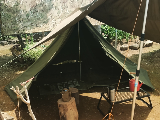 ポーランド軍テント