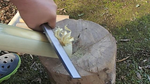 竹のフェザースティック