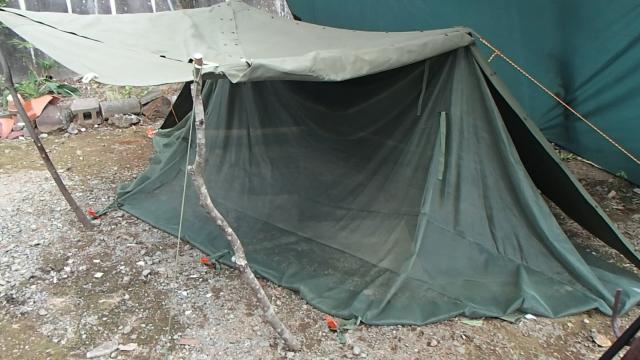 ゆるゆるが標準な蚊帳