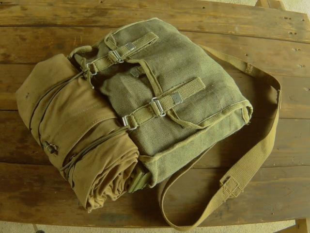 デイキャンプ・デイハイク用ハバーサック(ポーランド軍ブレッドバッグ)