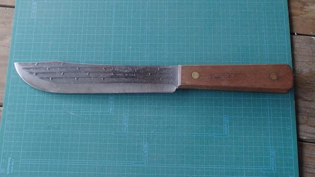 改造前7インチブッチャーナイフ