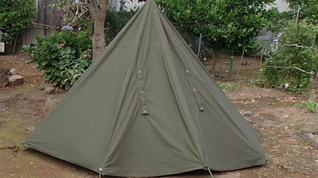 ポーランド軍テント閉めている状態