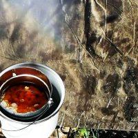 テントやタープの防水加工 グリーンランドワックスの作り方