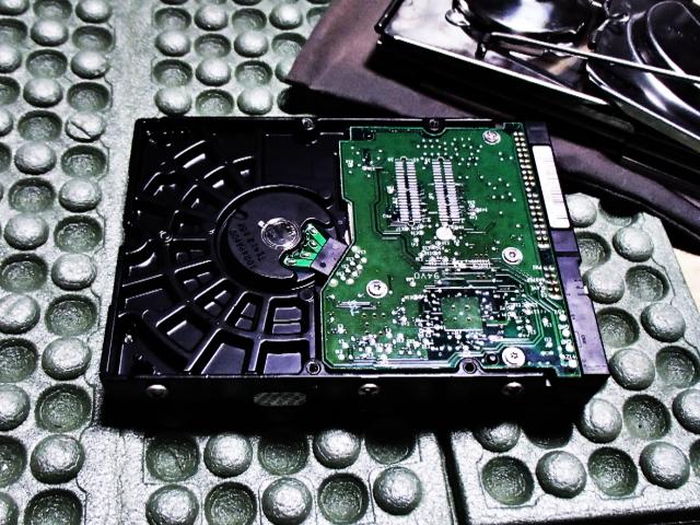 ハードディスク壊れる