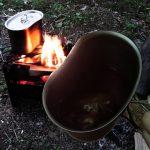 焚き火コーヒーでカウボーイコーヒー風
