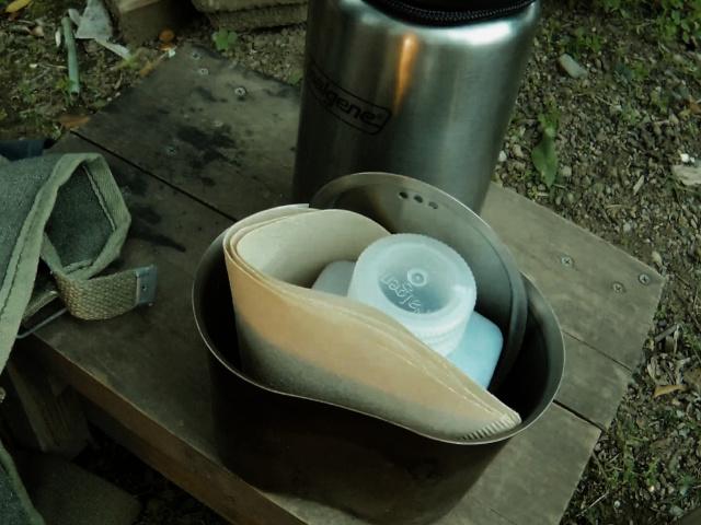 野外コーヒーセット