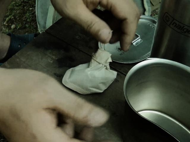 コーヒー豆フィルタ完成