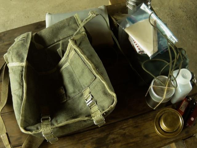 改造済みポーランド軍ブレッドバッグ