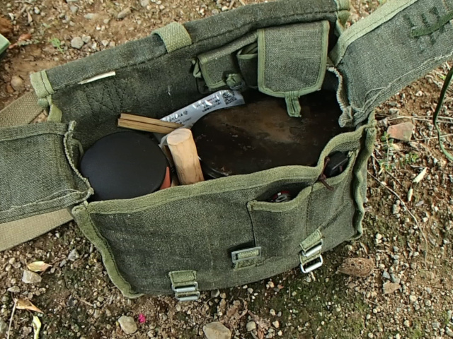 ポーランド軍ブレッドバッグとランチセット
