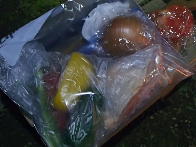 パエリアの材料の野菜