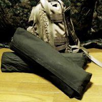 ポーランド軍テントの畳み方