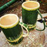 竹のマグカップ 簡単な作り方